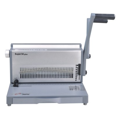 Manual 3:1 twtin wire binding machine  17 inch
