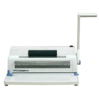 Small and light spiral binding machine