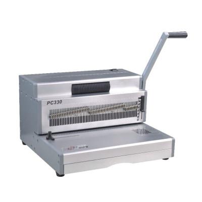 Manual spiral binding machine
