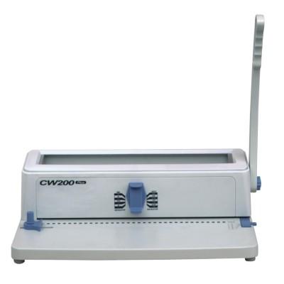 A4 plastic wire binding machine