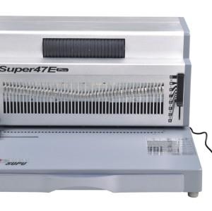 A4 Electric coil binding machine SUPER47E PLUS