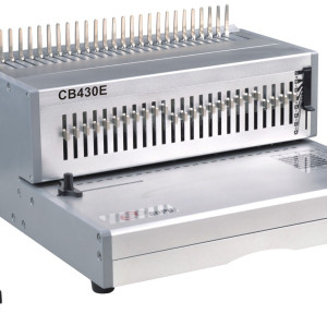 Office comb binding machine
