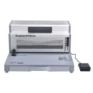 Electric coil binding machine SUPER47E PLUS