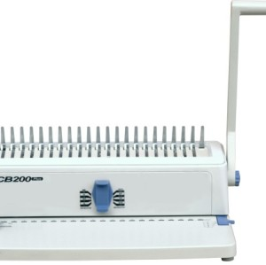 Plastic comb binding machine 11''
