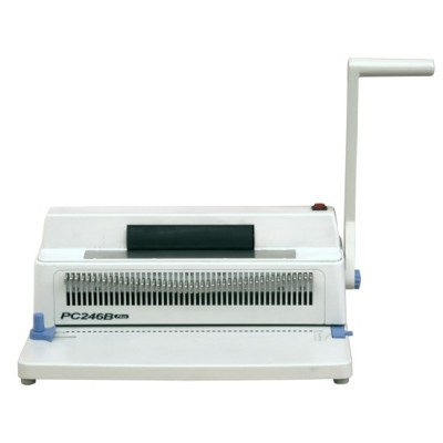 Manual single coil binding machine for office use PC246B plus