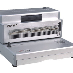17'' leagal size coil binding machine
