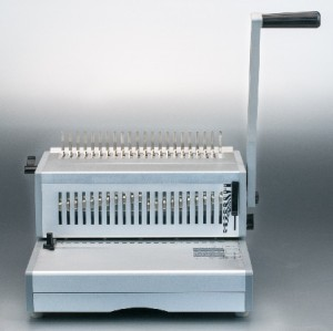 11 inch aluminum manual  plastic ring binding machine