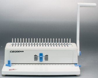Manual 11 inch Plastical comb binding machine (CB200)