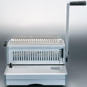Manual FC size aluminum comb binding machine
