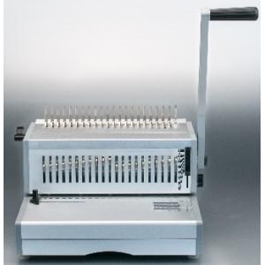 Manual 330MM fc size plastic ring binding machine
