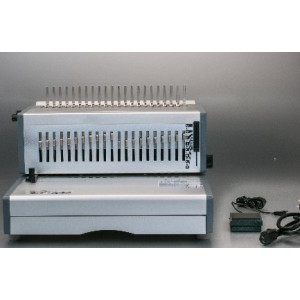 Electrical fc size comb binding machine