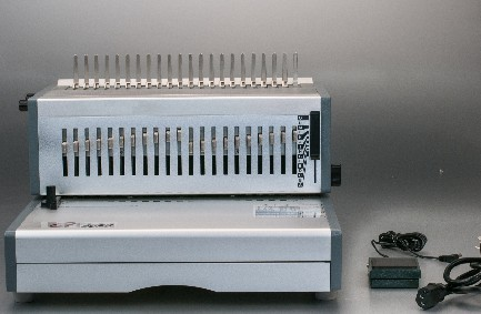 Aluminum 330mm fc size plastic comb binding macine