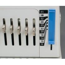300mm electrical plastic ring binding machine