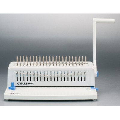 Comb binding machine  with adjustable punch pins
