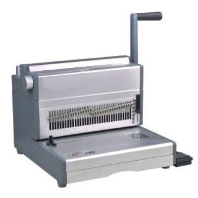 Electric 2:1 14 inch twin wire binding machine