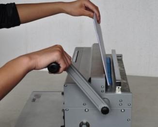 300mm twin loops wire binding machine 2:1  Super23E plus