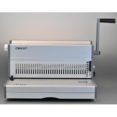 2:1 A3 manual wire binding machine 430mm 17 inch