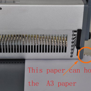A3 3:1 wire binding machine manual