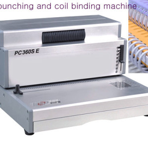 Electric Heavy Duty Spiral Coil Binder