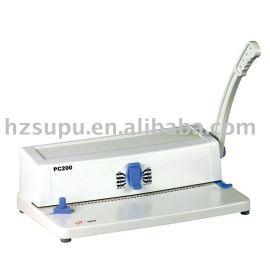 espiral bingding pc200 máquina