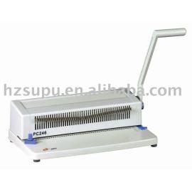 espiral máquina de perfuração pc246
