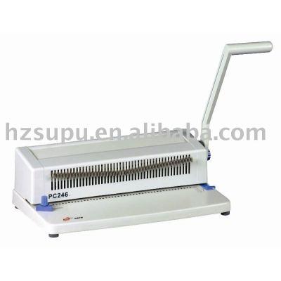 Spiral punching machine PC246
