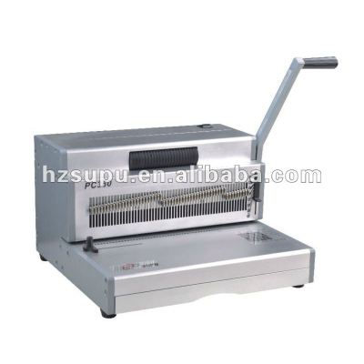 Manual Spiral Coil Binding Machine For A3,A4 paper SUPU PC430S