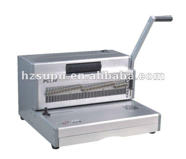 Heavy duty bobina vinculativo& soco máquina pc300