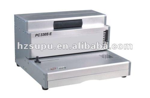 دوامة آلة لفائف ملزمإدراج pc330se التجارية