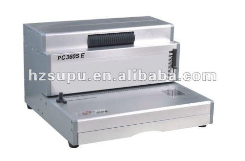 واجب ثقيل لولبية آلة لفائف ملزمإدراج pc360se