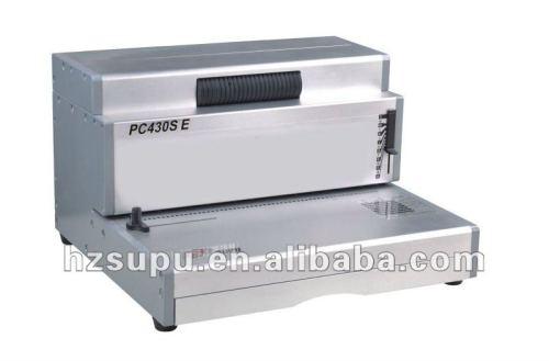 الأسلاك-- o آلة لفائف ملزمإدراج pc430e