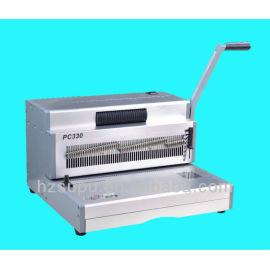 Manual de aço da bobinainserindo máquina binder 4:1pitch