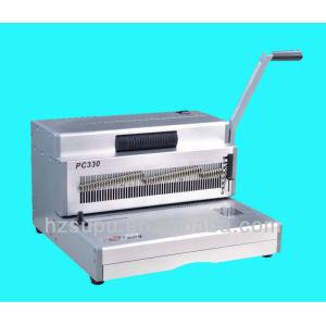 Manual Steel Coil Inserting Binder Machine 4:1pitch