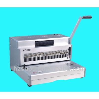 Manual de la bobina de acero de la inserción de la máquina binder 4:1pitch