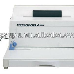 plasticl coil binding machine