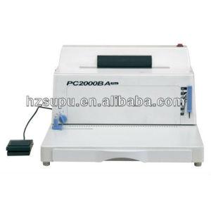easily used plastic coil binding machine