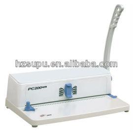 manual de plástico bobina de máquina de perfuração