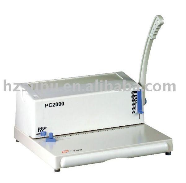 espiral máquina de perfuração pc2000
