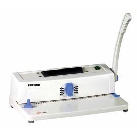 elétrico pequeno da bobina vinculativo máquina pc200b