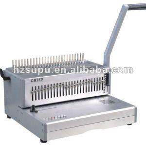 Heavy Duty manual plastic Comb Binding equipment