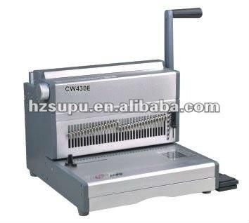 سلك كهربائي مزدوج آلة تجليد cw430e