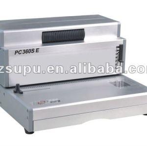 محرك كهربائي pc360se آلة دوامة ملزمة لفائف