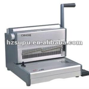 الثقيلة cw430e آلة سلك ملزمة