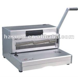 singal pc300 آلة تجليد لفائف بلاستيكية لولبية
