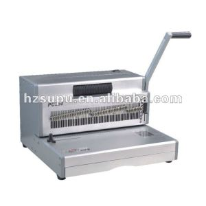 singal plastic spiral coil binding machine PC300