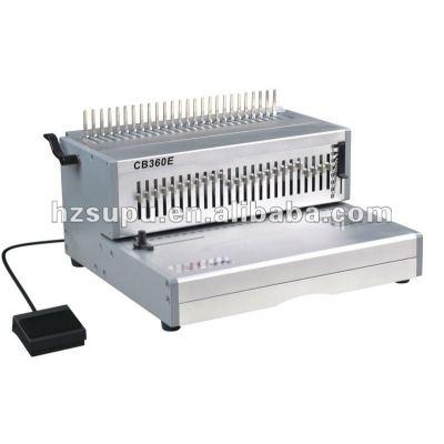 eléctrico de servicio pesado máquina obligatoria del peine