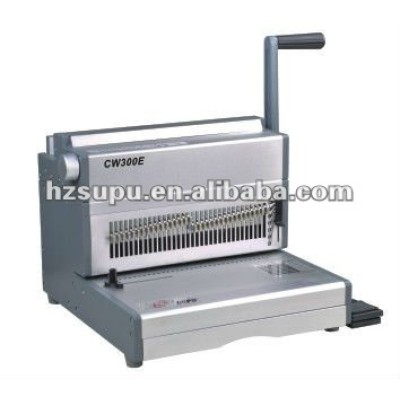 Heavy Duty manual Wire Binding Machine for office and factory