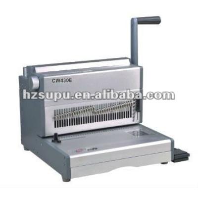 heavy duty máquina de encuadernación de libros para cw430e