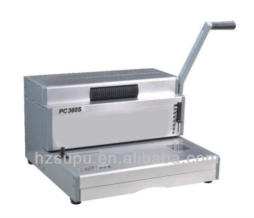 لفائف ملزمإدراج machinepc360s الثقيلة مكتب
