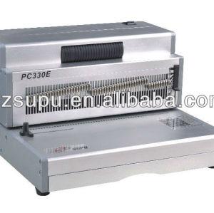 Office Aluminum Coil Binding&punch machinePC330E